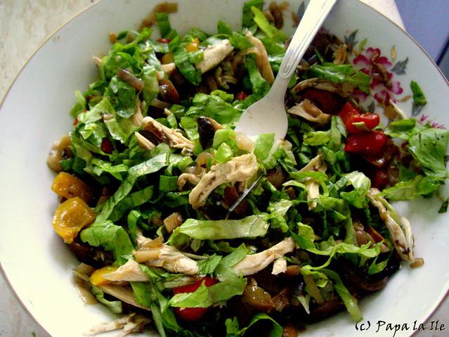 Salata cu ciuperci si ardei (9)