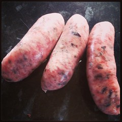 Pork and seaweed sausages #BuyLocal #Devon