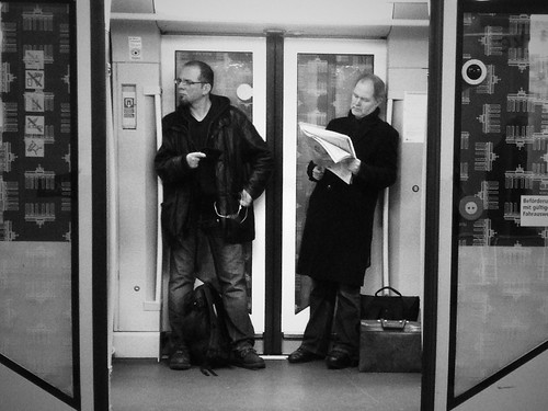Men on the Subway