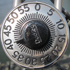 Combination lock - squared circle by Monceau