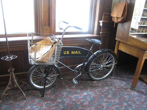USPS bicycle