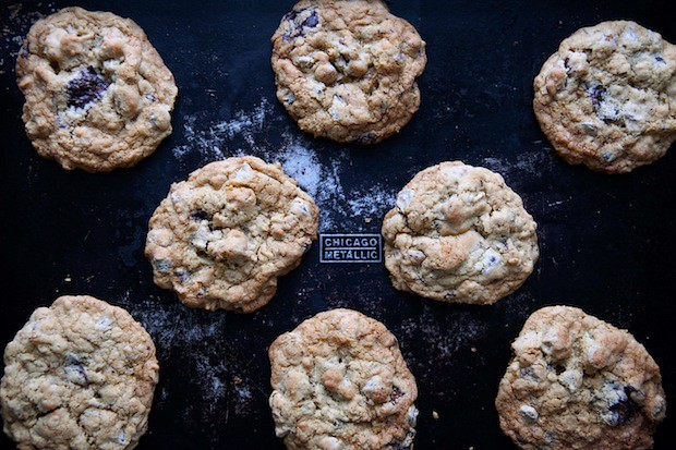 Chocolate fig cookies from Food52