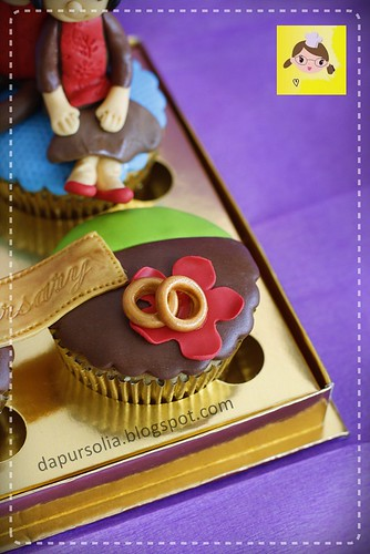 Anniversary Cupcake Set for Rani