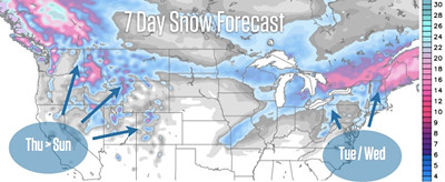7-day snow outlook