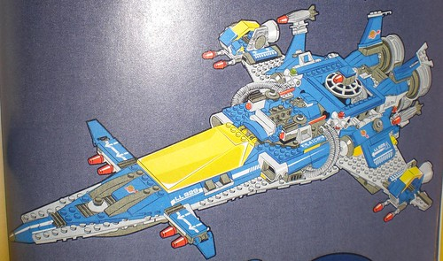 The LEGO Movie Benny's Spaceship