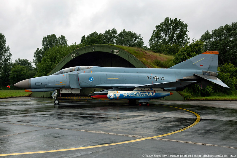 German Air Force McDonnell Douglas F-4F-53-MC 37+15