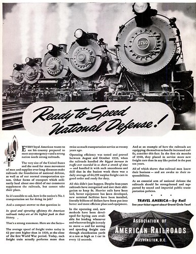 1940 - JUL - 15 - LIFE MAG - AMERICAN RAILROAD by roitberg