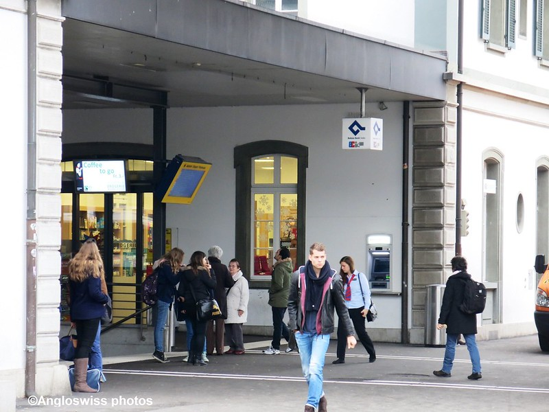 Entrance Main Station Solothurn