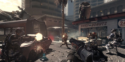 Call of Duty: Ghosts, Xbox 360 version gets update