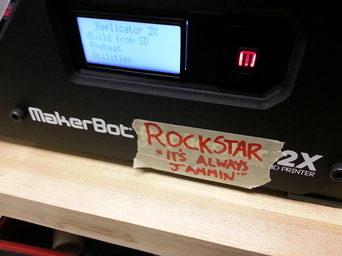 I renamed the makerbot