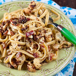 Roasted Cauliflower Carbonara