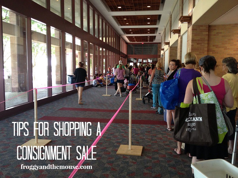 Tips for shopping at consignment sales