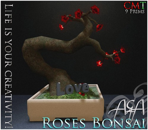 ::A&A:: Roses Bonsai by Alliana Petunia