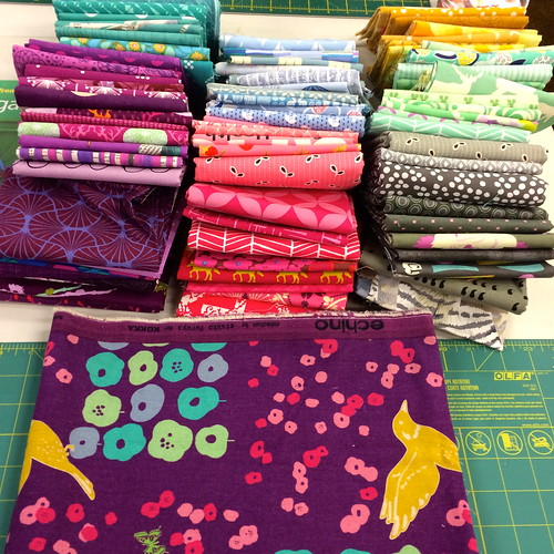 Fabric pull for Kaffe Fassett quilt