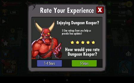 Dungeon Keeper Cheater