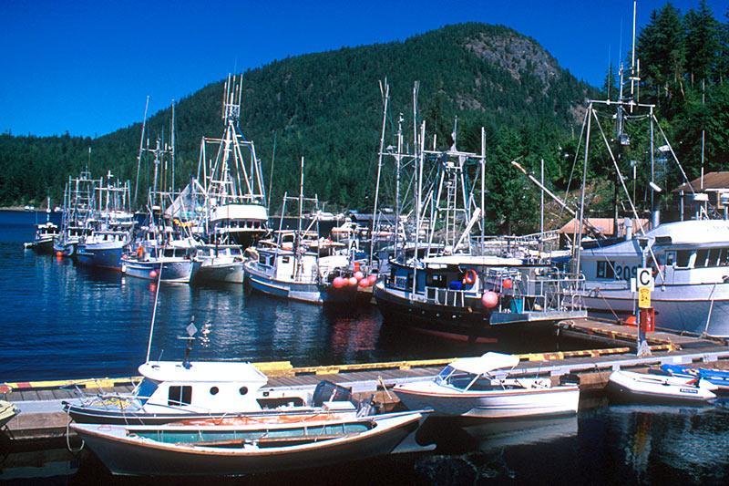Madeira Park, Sechelt Peninsula, Sunshine Coast, British Columbia, Canada