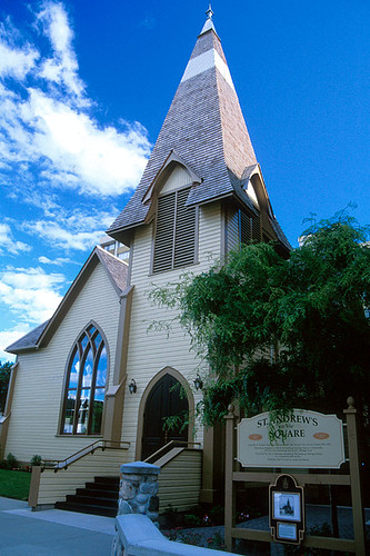 St. Andrews Church, Kamloops, Thompson Valley, Thompson Okanagan, British Columbia, Canada