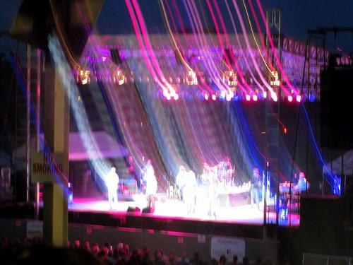 Blurred Stage Lighting.