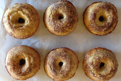 Seriously good baked cinnamon sugar donuts!