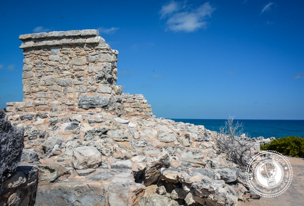 A Glimpse of the Island of Women at Isla Mujeres, Mexico - Southern Most Ruins on Isla Mujeres