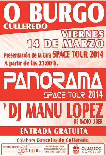 Panorama 2014 - Presentación O Burgo - cartel