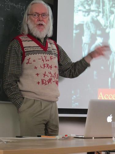 Prof John Ellis talk on CERN