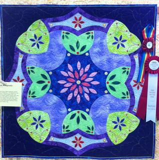 Flower Blossom Rhapsody~Quilt by Martha Price