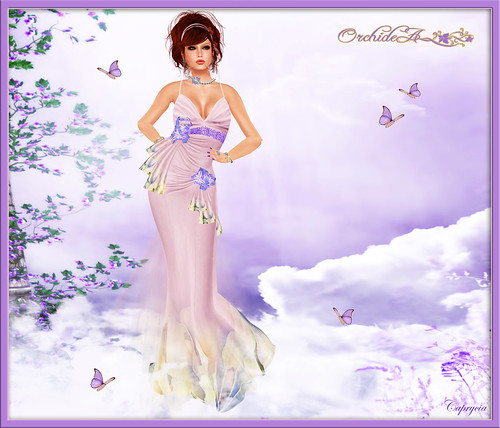 CALAAN - Orchidea Couture New by Caprycia ♕VeraWangMF2014♕