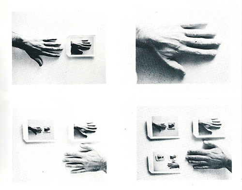 Lew Thomas, Polaroid Hand (B&W&C), 1972/2014 at Cherry and Martin, Los Angeles