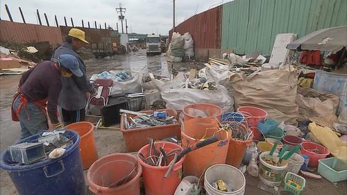 建築廢棄物回收業屬於環境服務業,服貿簽訂後恐遭衝擊。