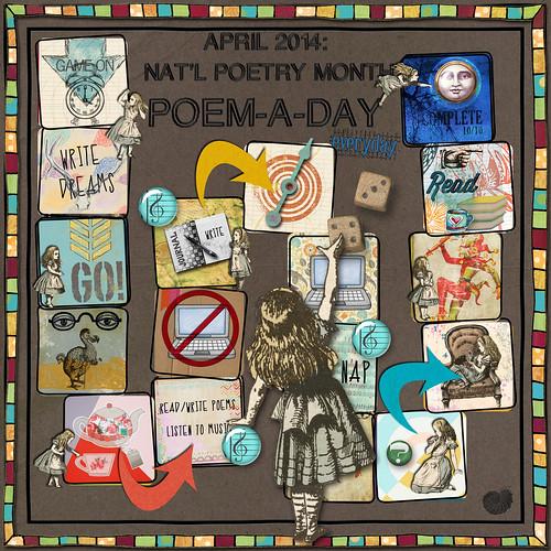 April 2014: Poem-A-Day
