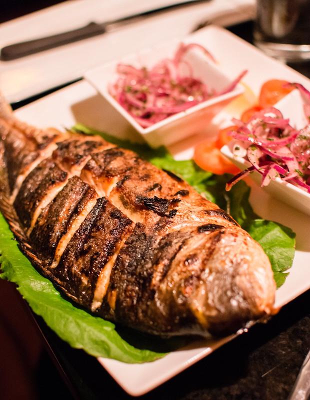 whole fish at Aya Sofia