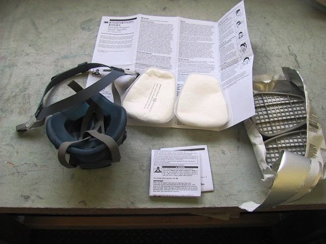 3M Respirator and Filters