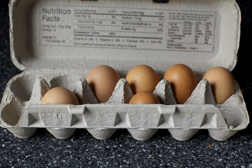 does anyone eat their eggs in order?