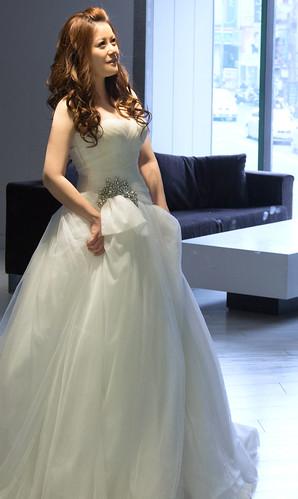 豐腴女孩也能挑到漂亮婚紗11