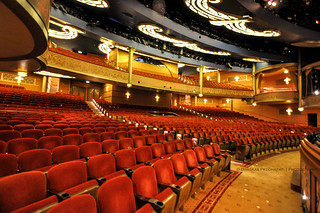 2014: 32/100: Walt Disney Theatre on Disney Dream!