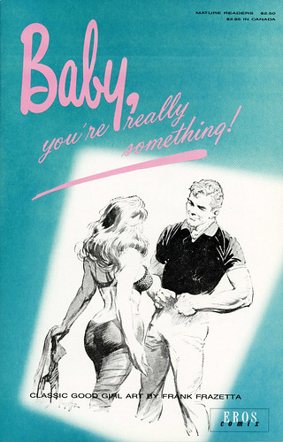 Eros Comix - Larry Pike - Baby, you're really something!