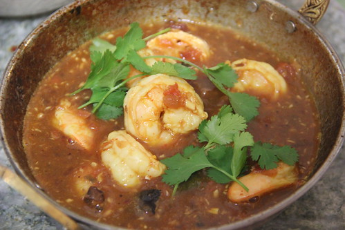 Hot and Sour Shrimp curry