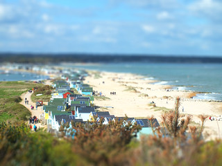 Hengistbury Head Tiltshift
