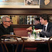 Justin speaks with Adam Vaughan in Toronto. April 16, 2014 --- Justin parle avec Adam Vaughan à Toronto. 16 avril 2014.