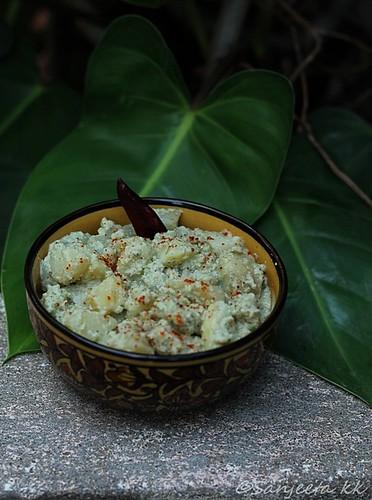 Karantaka recipe-Batata Saasam