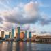 Tampa Skyline with Big Clouds 7_27_14 by Photomatt28