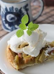Rabarberpaj | Rhubarb Pie