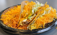 FAST FOOD SERIES: Combo Plate with 2 shredded beef…