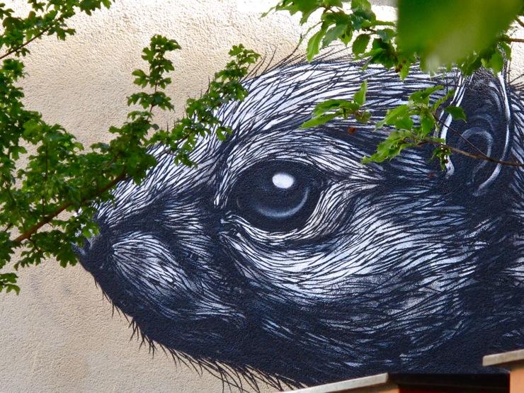 ROA rodent mural Gasværksvej