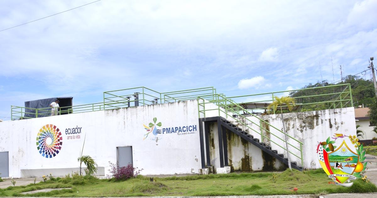 Agua potable se distribuye con normalidad en Chone