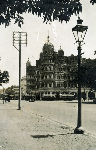Esplanade Mansions, Calcutta / Kolkata, India, 1920s.