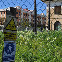 Obras paradas en el Parque de La Ranilla