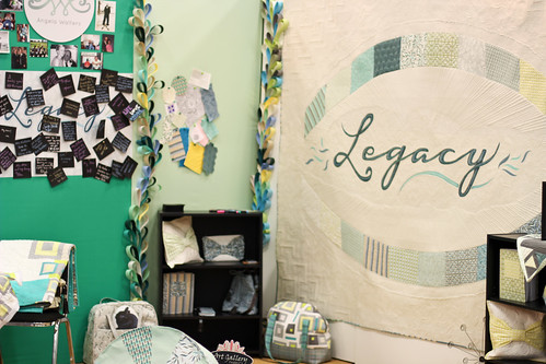 Quilt Market - Angela Walters' Booth by Jeni Baker
