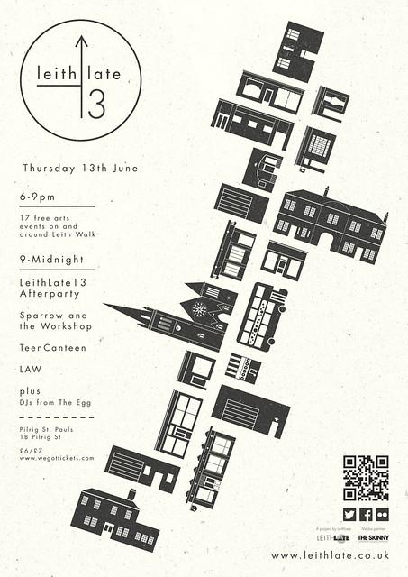 LeithLate13 poster - A Little Island